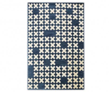Lavmi Dark Blue Szőnyeg 122x183 cm