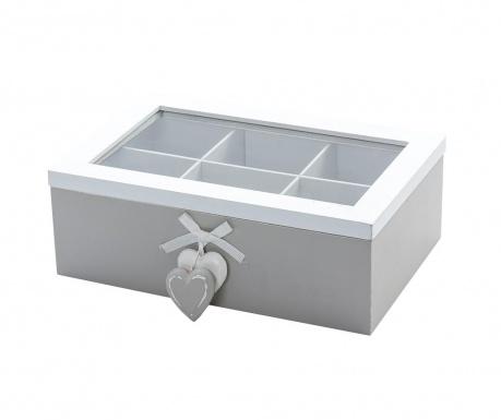 Pudełko z pokrywką na herbatę Gallus