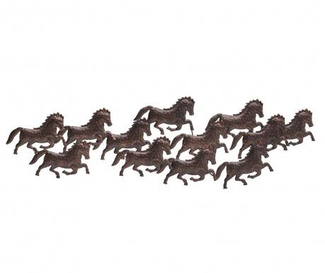 Dekoracja ścienna Free Horses