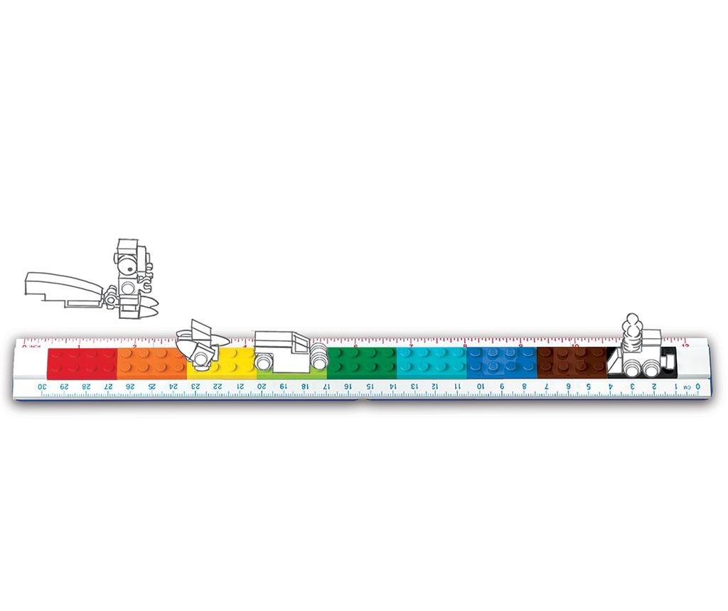 Lego Buildable Vonalzó