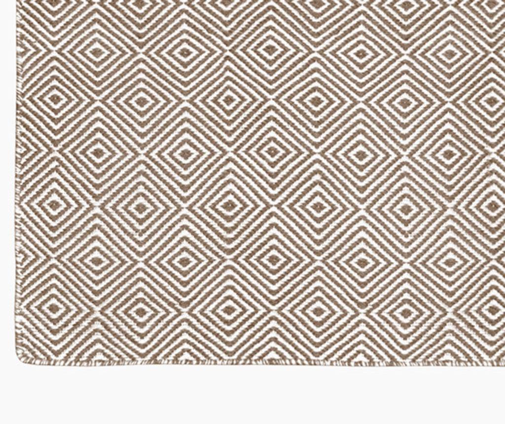 Covor plastic Solitaire Cream 180x270 cm