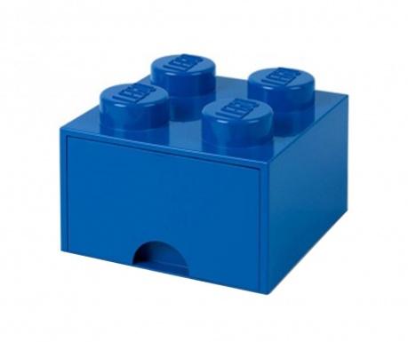 Lego Square One Blue Tárolódoboz
