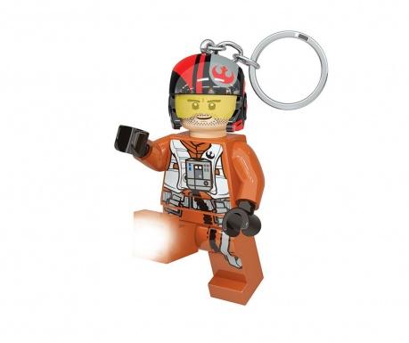 Obesek za ključe z lučko Star Wars Poe Dameron Key