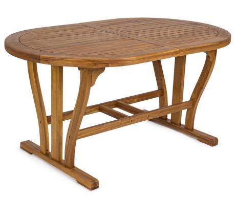 Rozkładany stół ogrodowy Noemi Oval