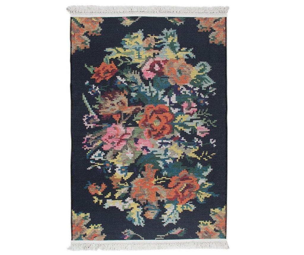 Tepih Melinda Black 75x150 cm
