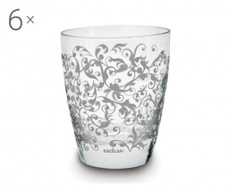 Zestaw 6 szklanek Domus 300 ml