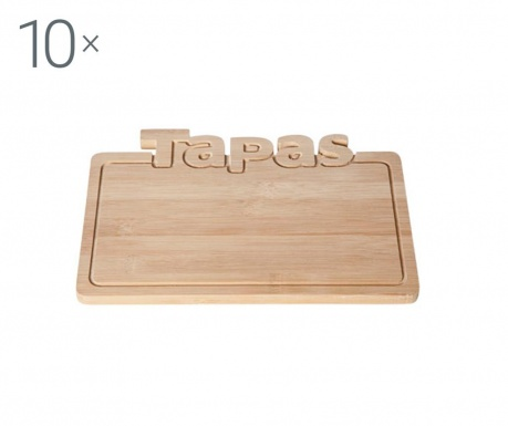 Set 10 servirnih krožnikov Tapas