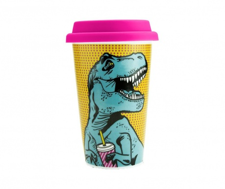 Cana de calatorie T-Rex 350 ml