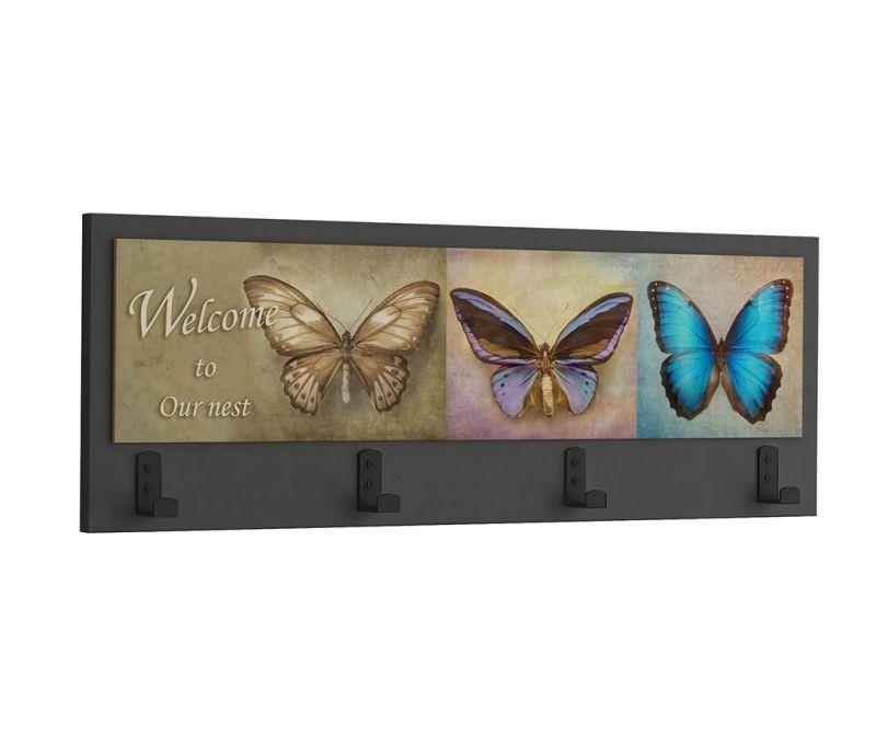 Obešalnik Butterflies
