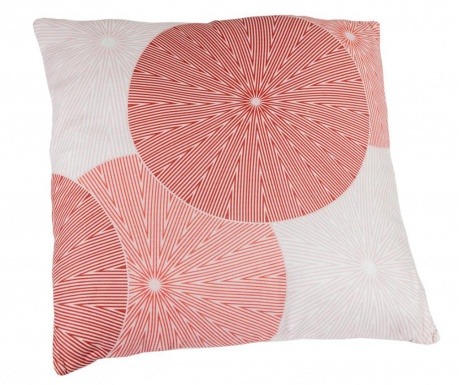 Perna decorativa Spin Red 45x45 cm