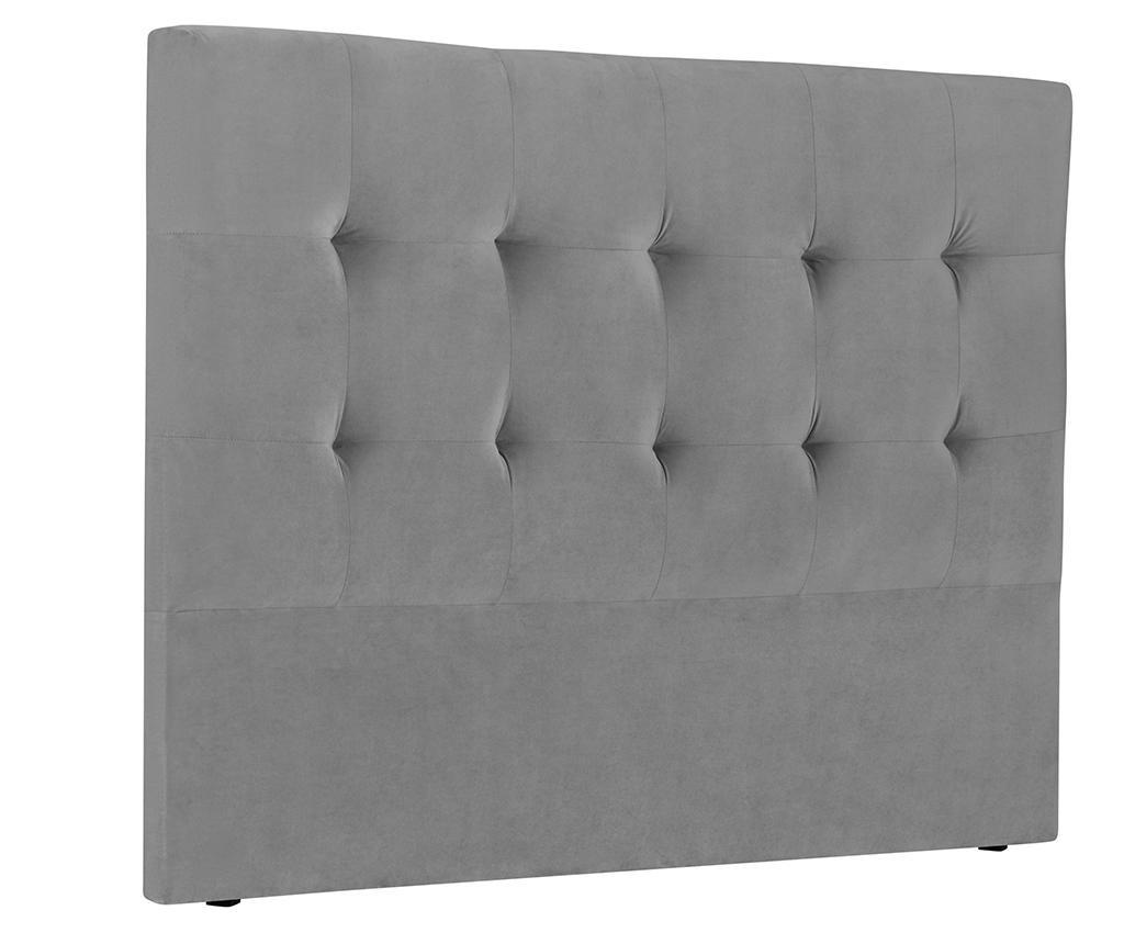 Tablie de pat Andol Light Grey 140 cm