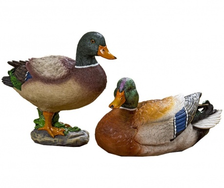 Set 2 decoratiuni de gradina Herta Duck
