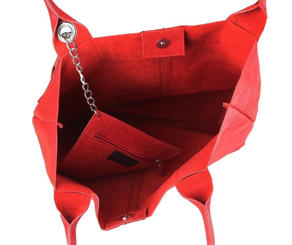 Kabelka Rossi Red
