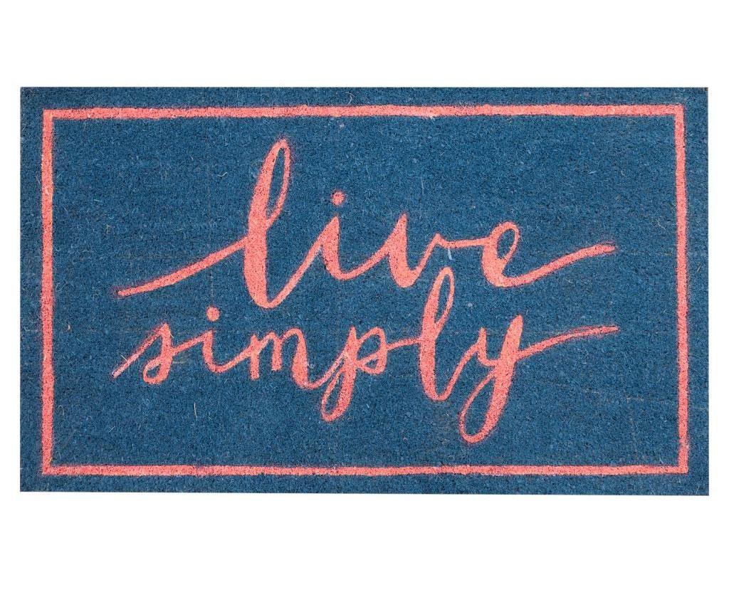 Live Simply Bejárati szőnyeg 45x75 cm