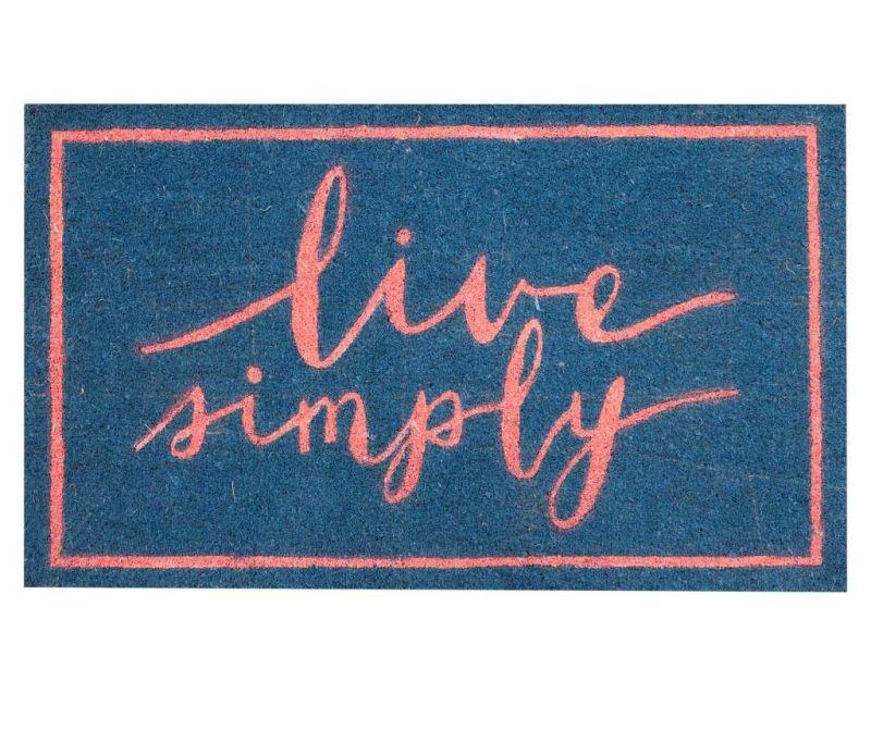 Live Simply Lábtörlő szőnyeg 45x75 cm