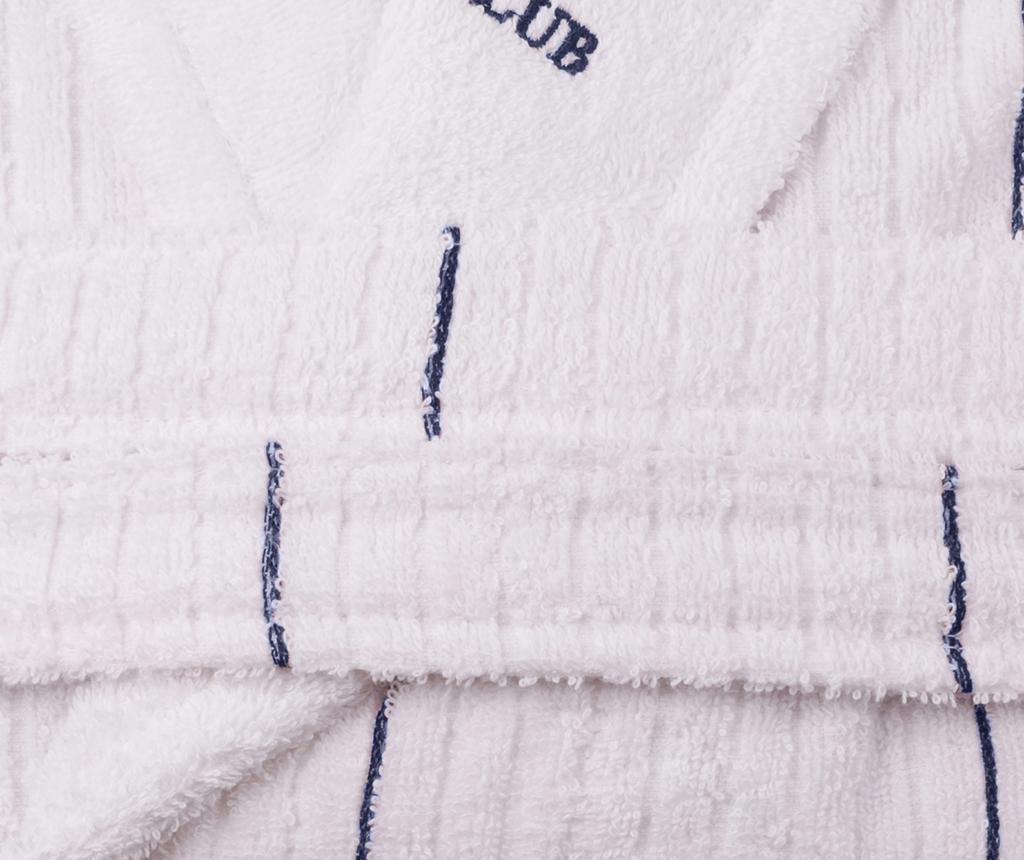 Camden White Dark Blue Unisex fürdőköpeny XS/S
