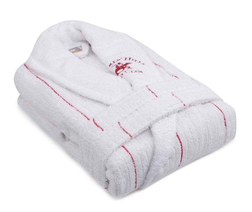 Camden White Red Unisex fürdőköpeny M/L