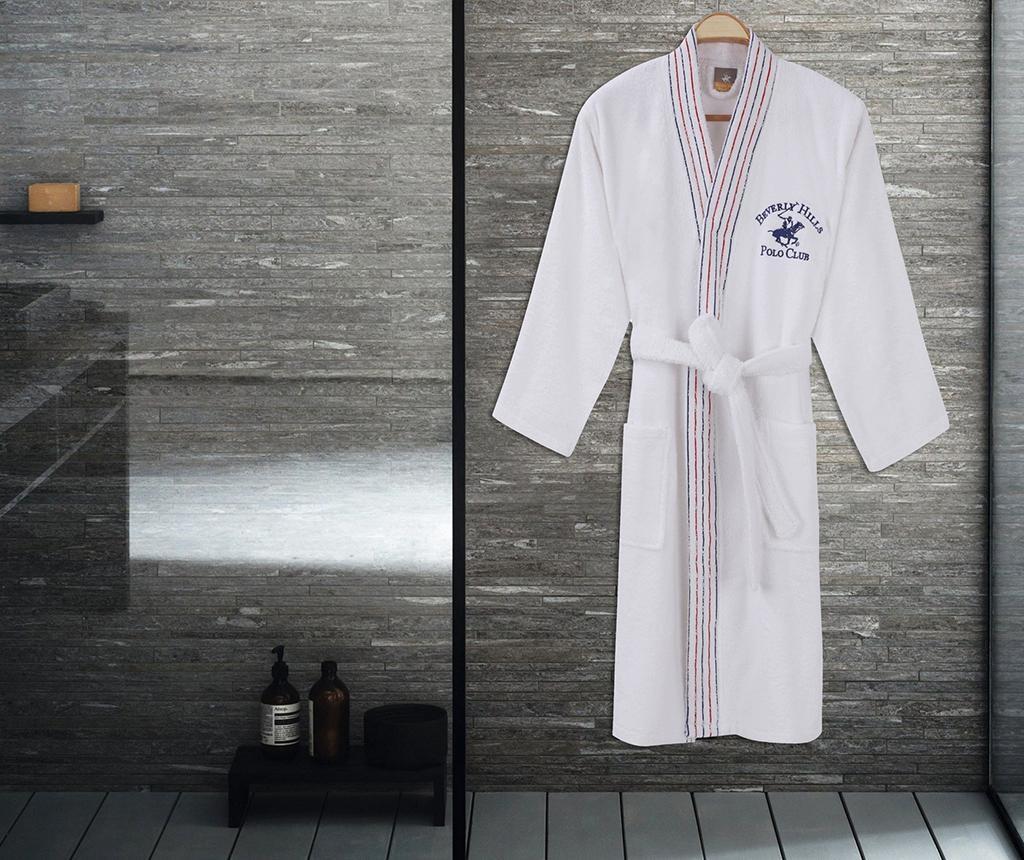 Muški kupaonski ogrtač Rorry White L/XL