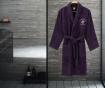 Austen Purple Unisex fürdőköpeny L/XL