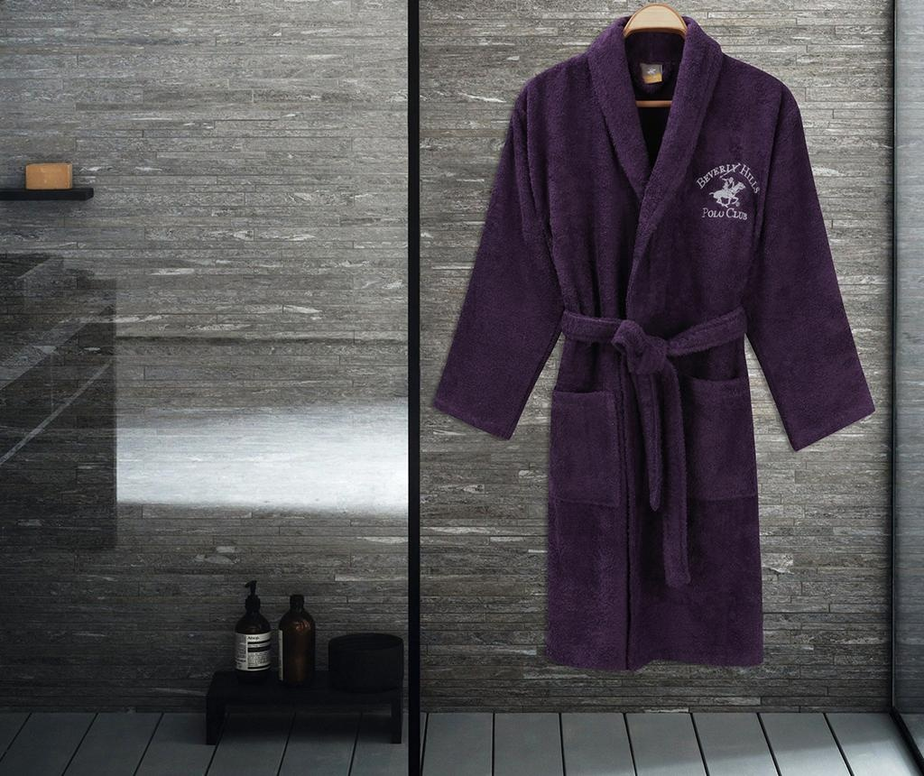 Mπουρνούζι μπάνιου unisex Austen Purple L/XL