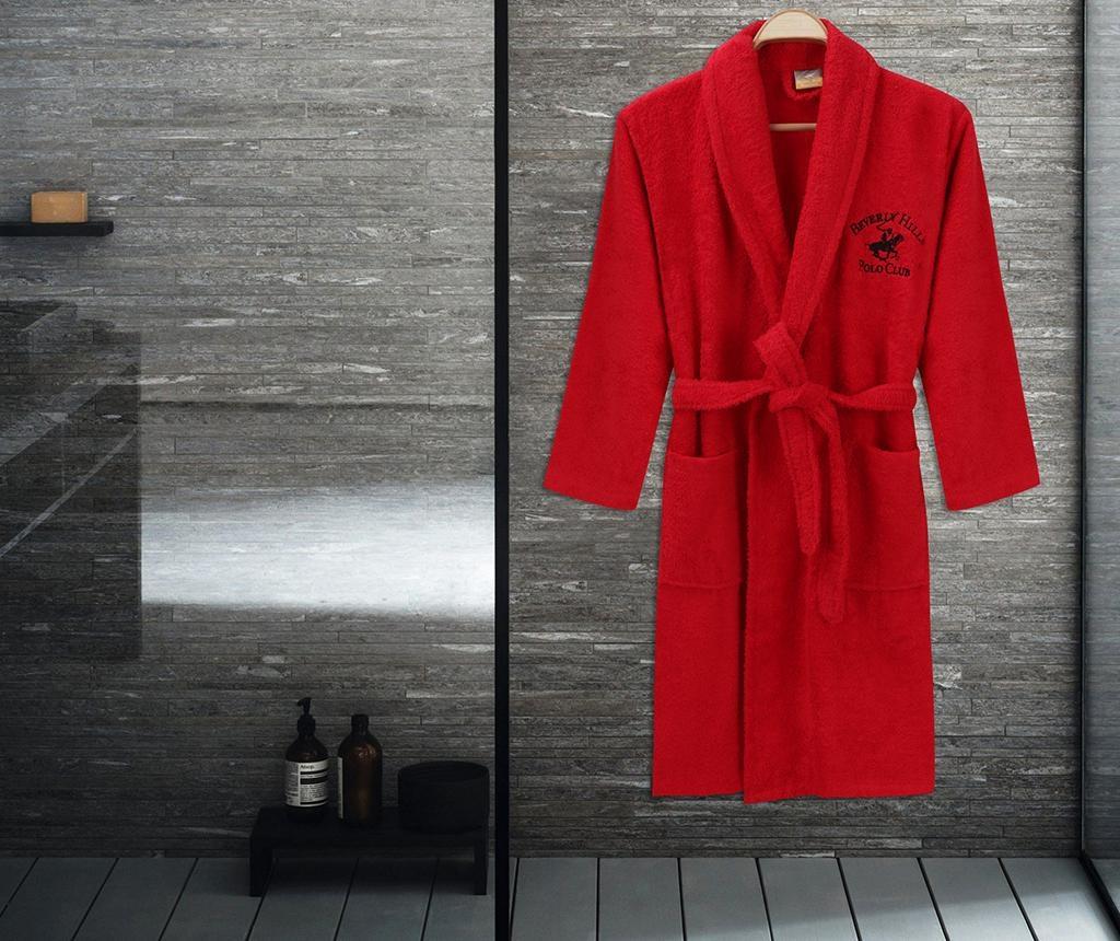 Austen Red Unisex fürdőköpeny L/XL