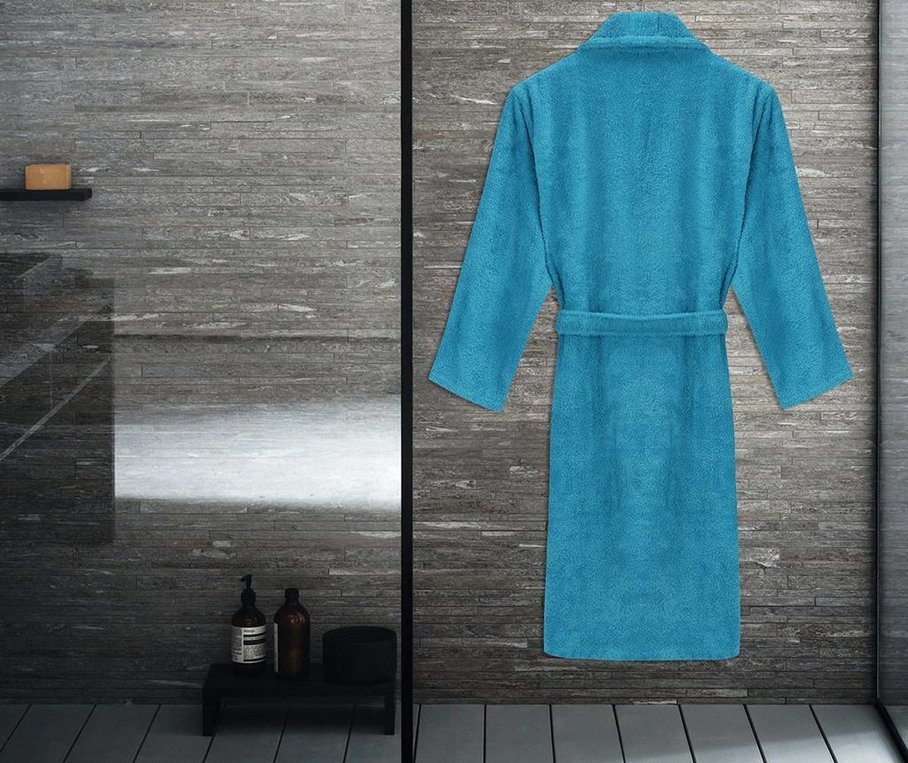 Austen Turquoise Unisex fürdőköpeny S/M
