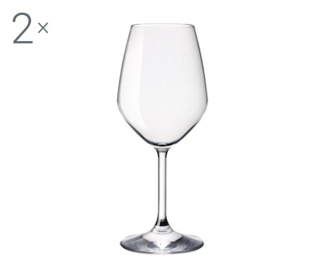 Set 2 čaše za vino Restaurant 425 ml