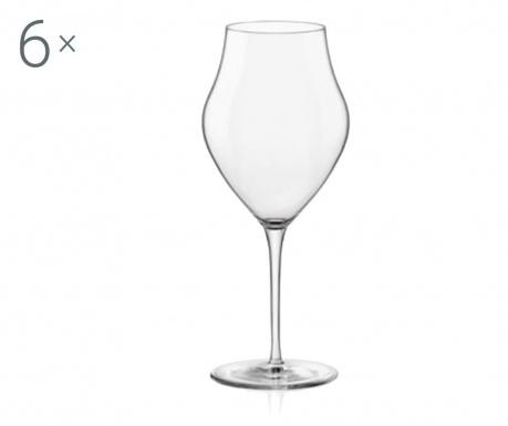 Zestaw 6 kieliszków do wina Inalto Arte 460 ml