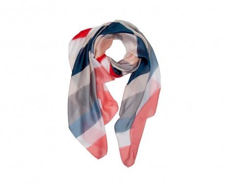 Apaszka Unely Pink & Blue 90x180 cm