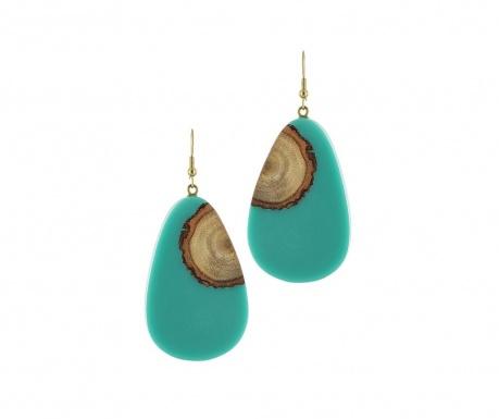 Kolczyki The Tree Turquoise