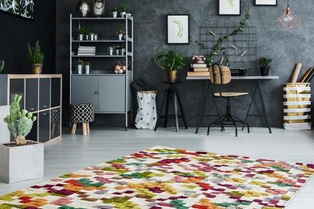 Melanż dywanów