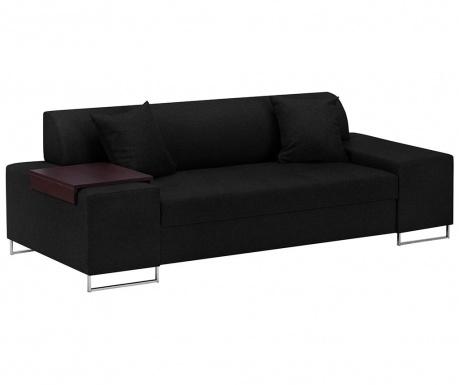 Orlando Black Silver Háromszemélyes kanapé