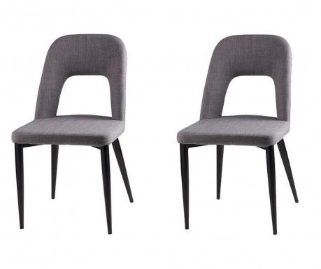 Комплект 2 стола Anika Light Grey