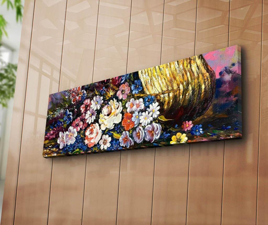 Tablou Flora 30x90 cm