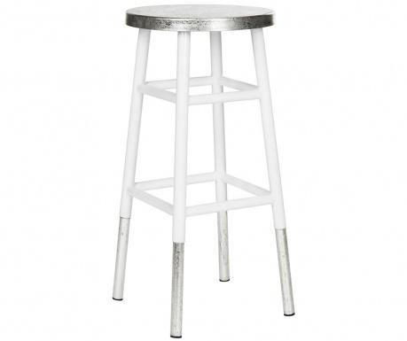 Barski stol Mirabelle Tall White