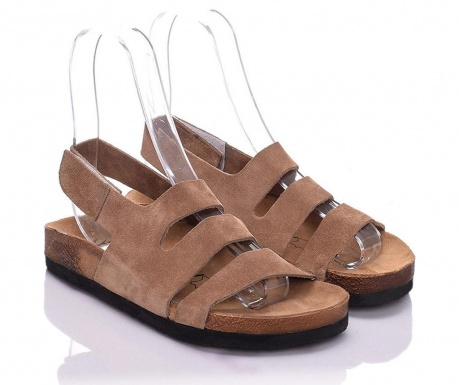Sandale dama Odele Extra Light Brown 37