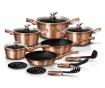 15-dijelni set posuda za kuhanje Royal Gold