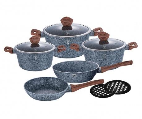 10-delni set posode za kuhanje Forest Dark