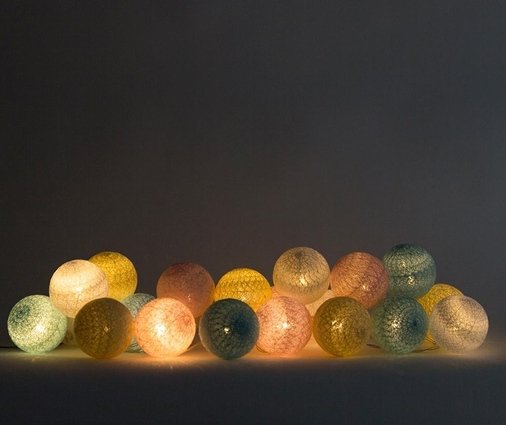 Lubanida Pastel Kültéri fényfüzér 778 cm