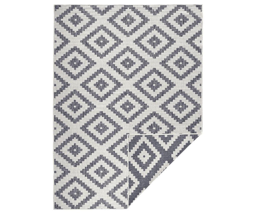 Twin Malta Grey Cream Kültéri szőnyeg 80x150 cm