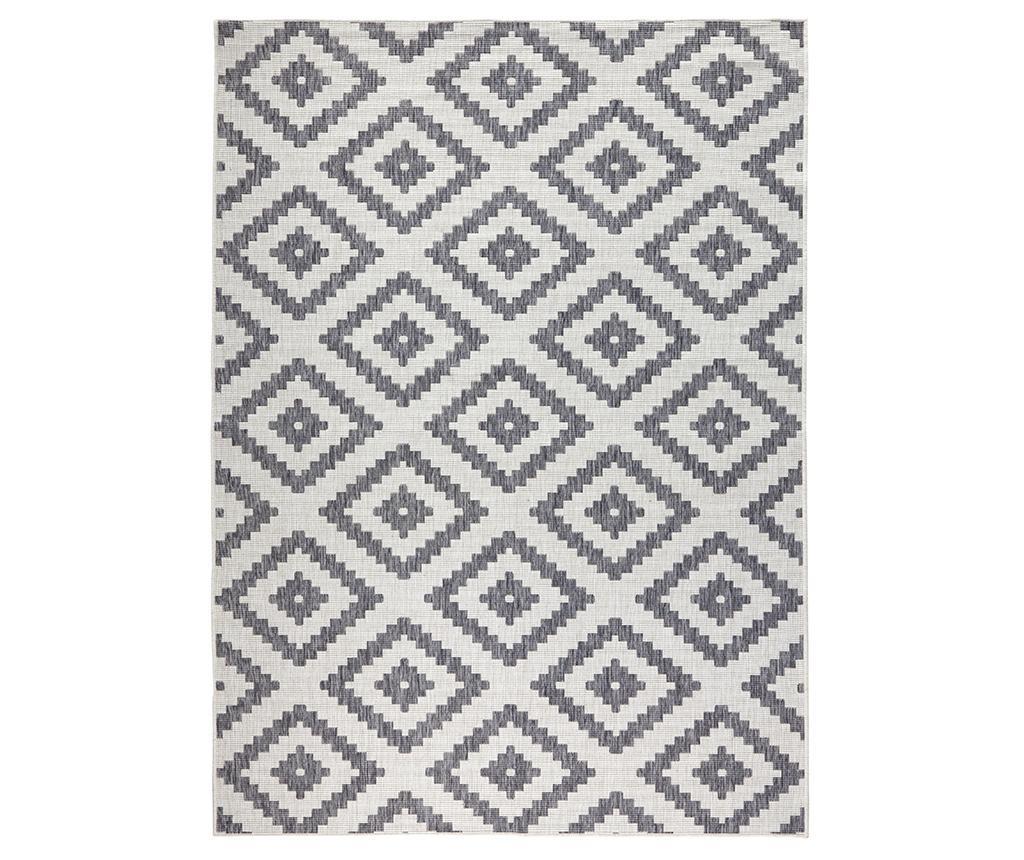 Twin Malta Grey Cream Kültéri szőnyeg 120x170 cm