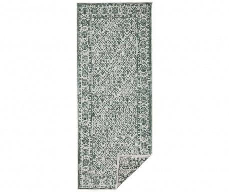 Twin Curacao Green Cream Kültéri szőnyeg 80x350 cm