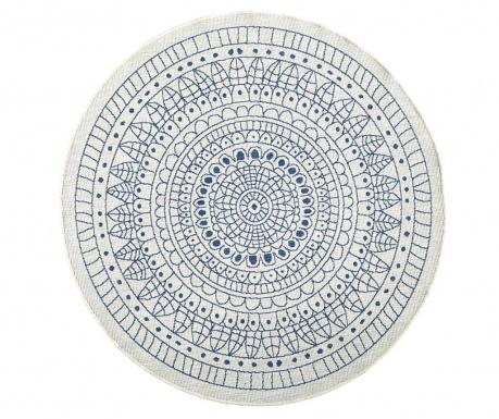 Venkovní koberec Twin Porto Blue Cream 140 cm