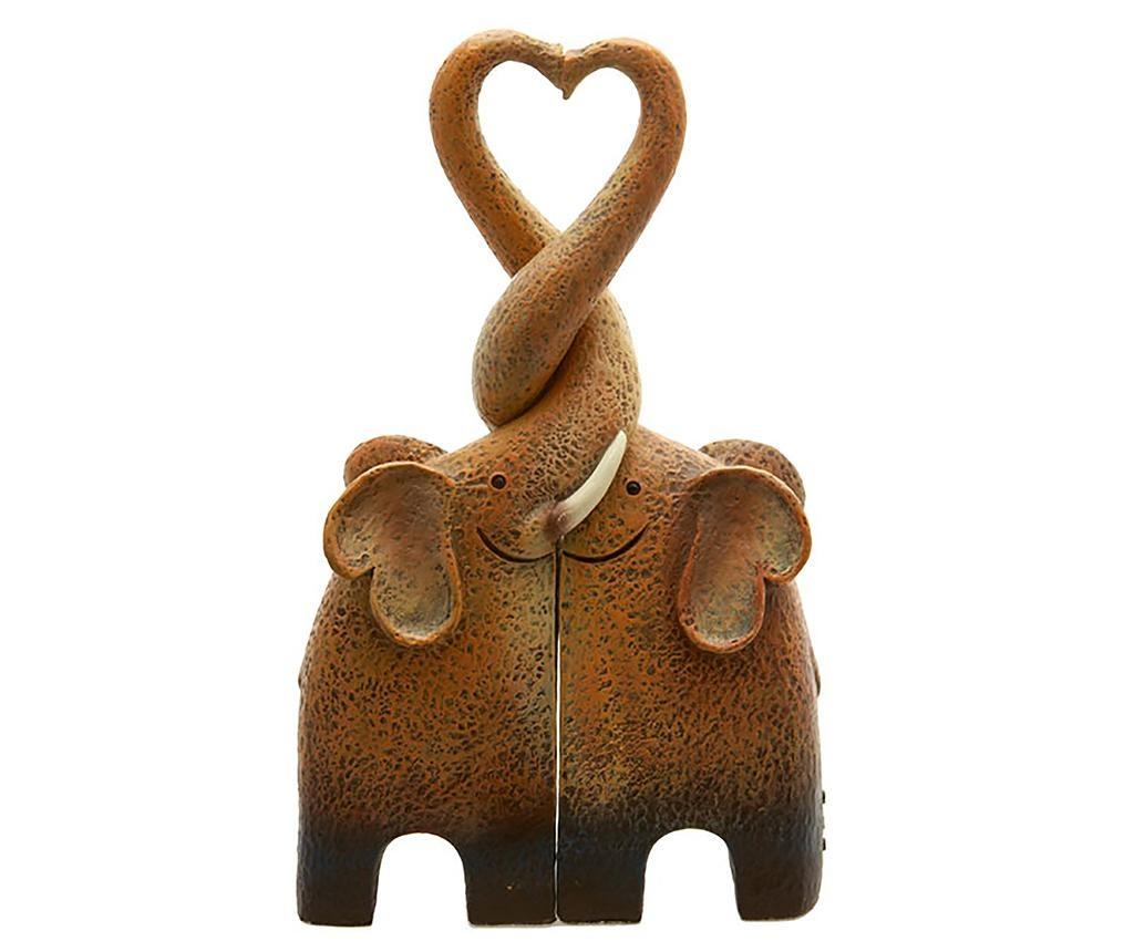 Decoratiune Elephant Family
