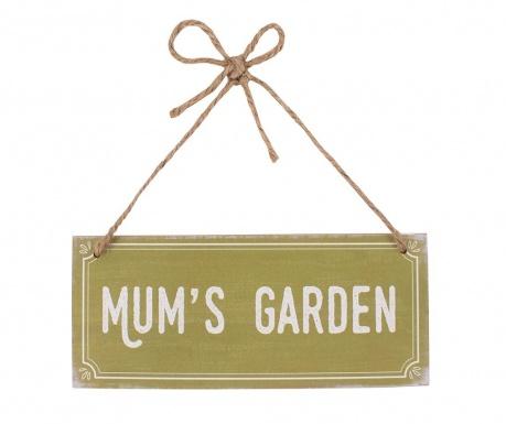 Nástenná dekorácia Mum's Garden