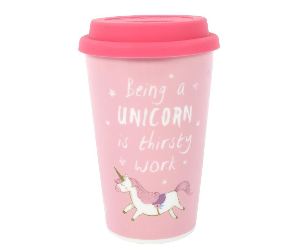 Cana de calatorie Being a Unicorn 350 ml