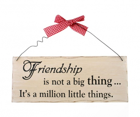 Decoratiune de perete Friendship