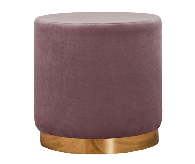 Taboret Barok Light Lilac