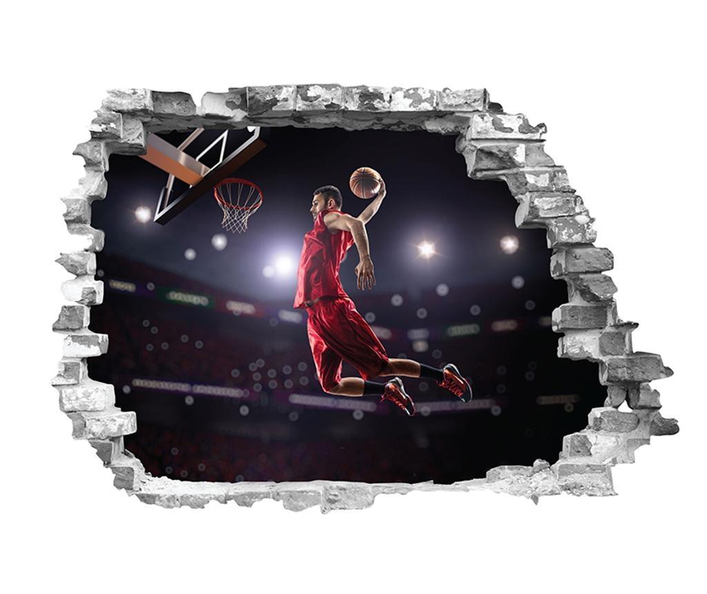Nalepka 3D Joueur Basket