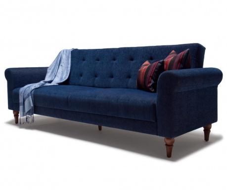 Rozkładana kanapa trzyosobowa Madona Dark Blue